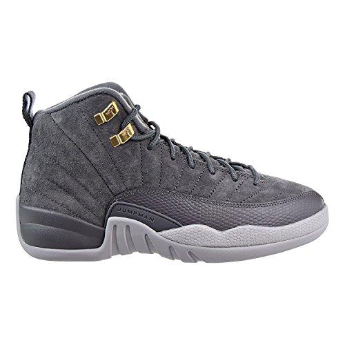 on sale c0856 d09be Galleon - Nike Air Jordan 12 Retro BG Big Kids Basketball Shoes Dark Grey, 6