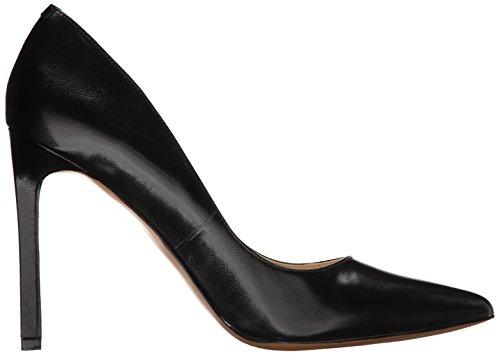 donna Nwtatiana48 West tacco Nine Scarpe con da nera in pelle gwzOF