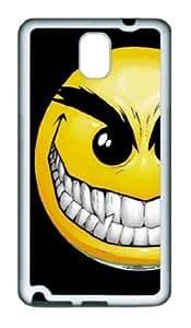Samsung Galaxy Note 3 N9000 Case,Samsung Galaxy Note 3 N9000 Cases -Funny Smile Face 3 TPU Custom Samsung Galaxy...