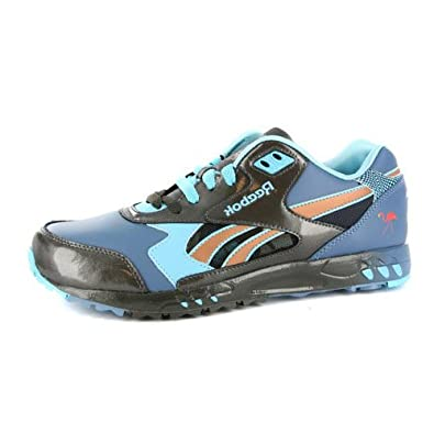 Reebok Mens Inferno Blue Leather Running Trainers Shoes UK 11   Amazon.co.uk  Shoes   Bags fd4dadc0e2da