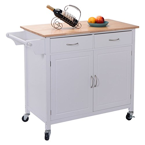 Kitchen Cabinets On Wheels: Top 10 Best Kitchen Carts And Islands On Wheels With