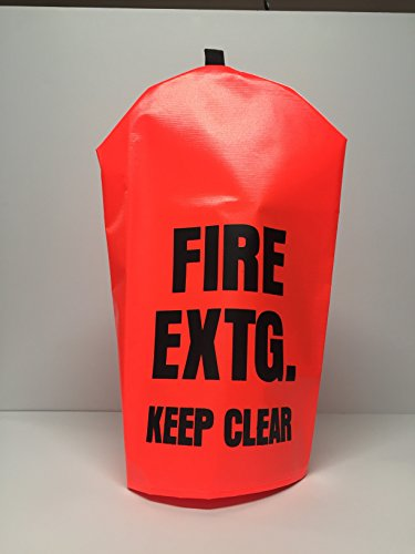 - FIRE EXTINGUISHER COVER (PEK 300) NO WINDOW - Large, fits 10-20lbs extinguishers (1)
