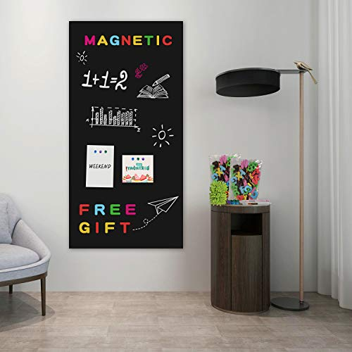 Board2by Magnetic Chalkboard Contact Paper, 38.9