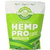 Manitoba Harvest Organic Hemp Pro Fibre plus Protein Supplement, 908 g Pouch, 13 grams of fibre per serving