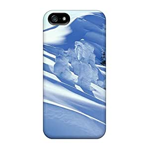 Premium [HWA3874UExV]snow Covered Mountain Case For Iphone 5/5s- Eco-friendly Packaging