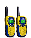 Outdoor Toys for 7-8 Year Old Boys, 2 Ways Radios Long Range Walkie Talkies Toys for 3-12 Year Old Girls Christmas Birthday Presents Gifts for 3-12 Year Old Boys Girls Halloween Yellow Blue ESUSAD09
