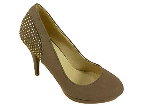 Zapatos marrones Chaussmaro para mujer lksrXjxgay