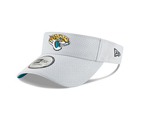 New Era Jacksonville Jaguars Official 2018 NFL On-Field Training Visor -Gray