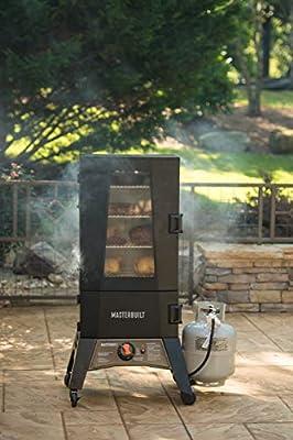 Masterbuilt MB20050716 Mps 330g Thermotemp Propane Smoker, Black by Masterbuilt Manufacturing, LLC