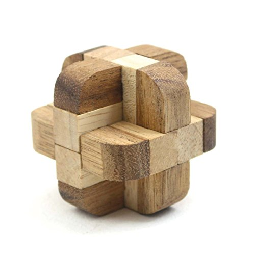 Diamond Cube Tactile Wooden Puzzle (Tactile Cube)
