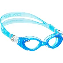 Cressi Crab Swim Goggles for Kids Youth Boys Girls (Made in Italy, with easily adjustable strap)