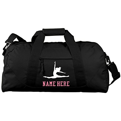 Personalized Ballet Bag With Name Gift: Liberty Large Square Duffel Bag (Ballet Bags For Teens)