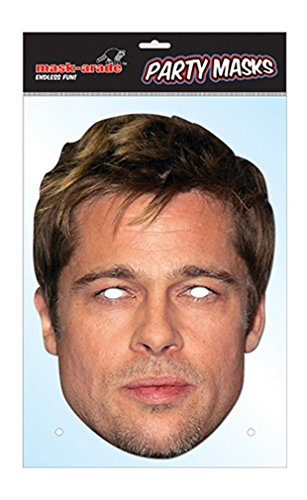 Brad Pitt Celebrity Face Mask (Celebrity Face Masks)