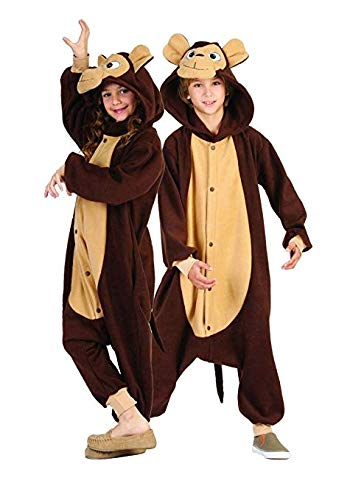 RG Costumes 'Funsies' Morgan The Monkey, Child Medium/Size -