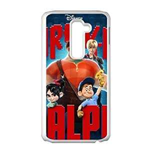 LG G2 cell phone cases White Wreck-It Ralph fashion phone cases TGH874771