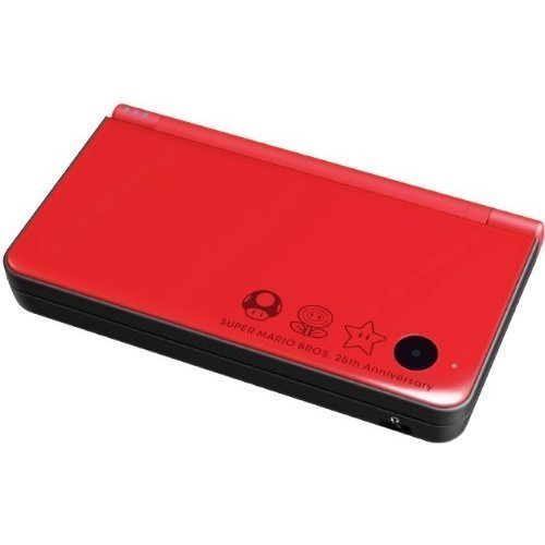 Nintendo DSi XL - Red (Super Mario Bros. 25th Anniversary Edition) by Nintendo (Dsi Console Red)