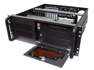 Logisys CS4801H Industrial 4U Server Chassis Cases