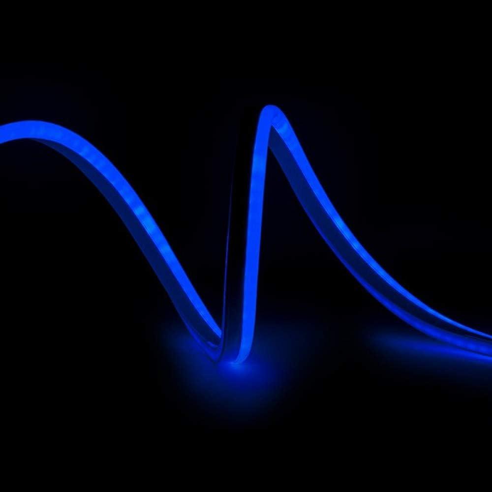 Greenice | Manguera LED Neon Flex 80 LEDs/M 8W/M 24VDC IP66 | Azul