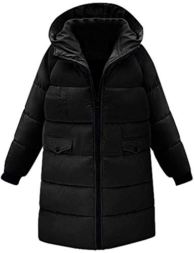 Hiver Parka Femme Longues Loisir Long Manches Chaud Chemin