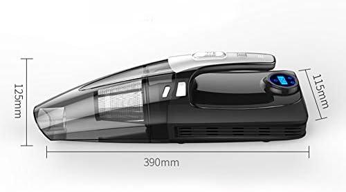 ZW Car Aspirateur, Aspirateur à Main, Forte Aspiration Rechargeable Humide à Sec sans Fil Vide avec Vide LED légère Humide à Sec pour la Maison et Voiture