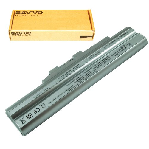 Click to buy Bavvo Battery for Sony VAIO VGN-CS215J/Q VGN-CS215J/R VGN-CS21S/P VGN-CS21S/R, Silver - From only $39.98