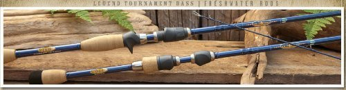 St. Croix Legend Tournament Bass Casting Rod TBC74HF by ST. CROIX