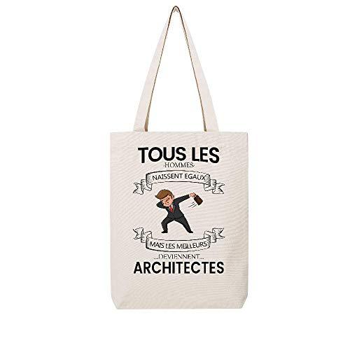 Architectes Beige Tissus Lmk Hommes Naissent Deviennent Egaux Meilleurs Mais Tous Les 1 Tote Lookmykase Uw5qnBPaOW