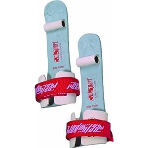 Reisport Men's Protec Elite Velcro Hook & Loop Ring Grips, Gymnastics