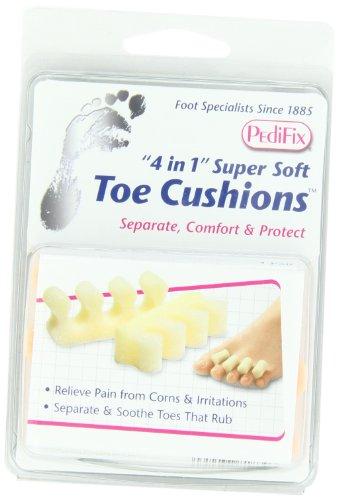 PediFix '4 In 1' Super Soft Toe Cushions, 2 - Foam Pedifix