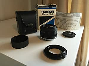 Tamron B01-200 Adaptall 24mm F/2.5 Manual Focus Lens with Case
