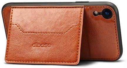 Amazon.com: Funda tipo cartera de piel clásica con ranura ...