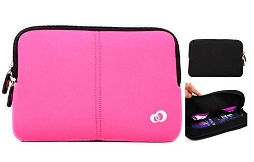 Amazon Fire HD 10, Amazon Kindle fire HD 8.9 , Amazon Kindle fire HDX 8.9, Amazon Fire HDX 8.9 (2014) Premium Neoprene sleeve tablet cover with pocket- Cupcake Pink by Kroo