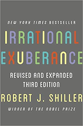 Cover of Irrational Exuberance book by Robert Shiller