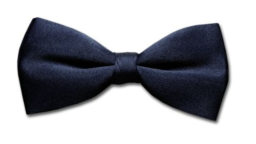 BOWTIE Solid Navy BLUE Menu0027s Bow Tie Tuxedo Ties BowTies
