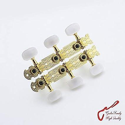 Clavijas de afinación para guitarra clásica de color dorado (#0708 ...