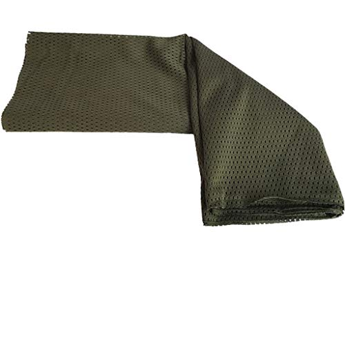 Tactical Military Style Camouflage Camo Scarf Wrap Face Net Mesh Cover -