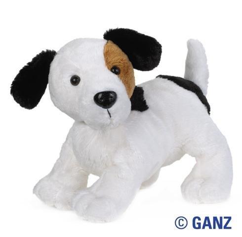 Webkinz Jack Russell Dog Plush Toy with Sealed Adoption Code by Webkinz