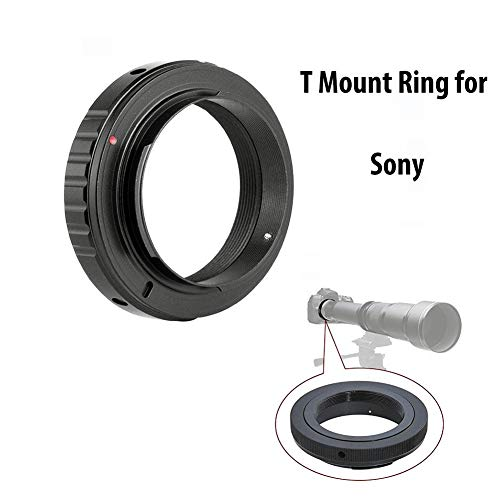 Lightdow T/T2 Mount Lens Adapter Ring for Sony A99II, A99, A900, A850, A77 II, A77, A65, A58, A57, A55, A37, A35, A33, A700, A580, A560, A550 etc