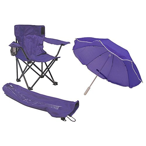 Redmon For Folding Chairs Kids Beach Baby Umbrella Camp Chair Purple