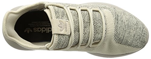 adidas Tubular Shadow Knit, Zapatillas para Hombre blancuzco (Cbrown/lbrown/cblack)