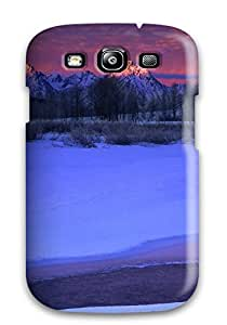 Hot Style Protective Case Cover For Galaxys3(winter Sunset) 6KIVFWOPSEAL0RTS