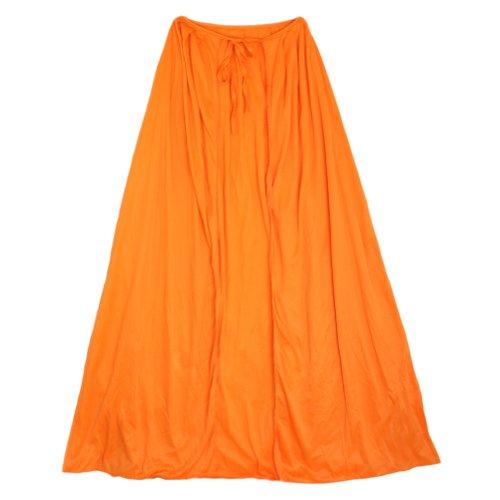 "SeasonsTrading 20"" Child Orange Cape ~ Halloween Costume Accessory"