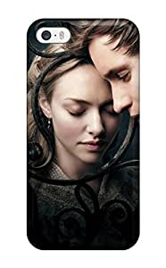 Rugged Skin Case Cover For Iphone 5/5s- Eco-friendly Packaging(amanda Seyfried Les Miserables)
