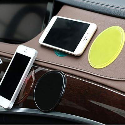 Sel-More Alfombra Antideslizante para teléfono portátil de Coche GPS Magic Pad Antideslizante de Coche Accesorios de Coche Color Aleatorio