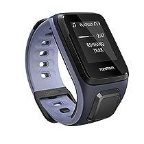 TomTom Spark Music, GPS Fitness Watch + 3GB Music Storage (Small, Sky Captain/Purple Haze)