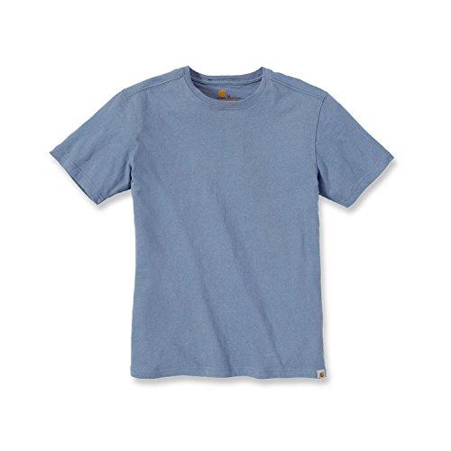 Travail Basic T shirt Maddock Carhartt Bleu De 71qXXf