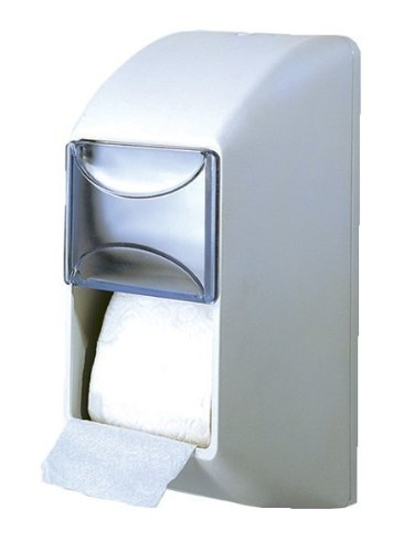 Doble dispensador de papel WC blanco MP 670