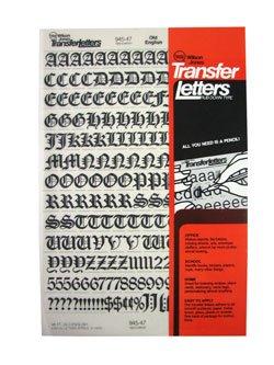 letter transfer