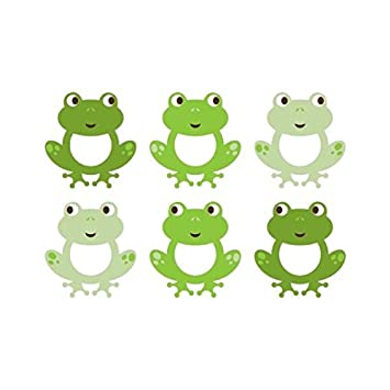 Frog Wall Decals  sc 1 st  Amazon.com & Amazon.com : Frog Wall Decals : Nursery Wall Decor : Baby