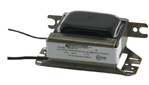 (ROBERTSON 3P10076 SP4827P AM Fluorescent mBallast for 1 CFT5W/G23, CFT7W/G23, CFT9W/G23 or CFQ9W/G23 CFL Lamp, 277Vac, 60Hz, Preheat Start, Normal Ballast Factor, NPF)